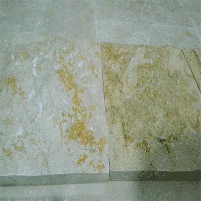 split face marble